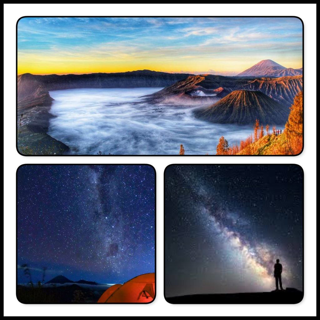 2 Days 1 Night Mount Bromo Milky way tour Package