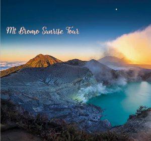 Bali Ijen Crater Tumpak Sewu Waterfall and Mount Bromo Tour
