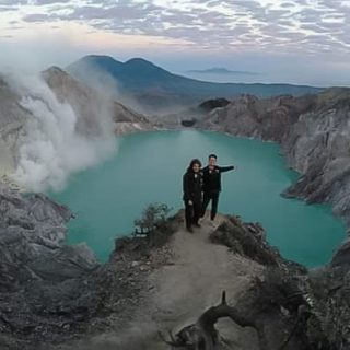 About Blue Fire Ijen Crater
