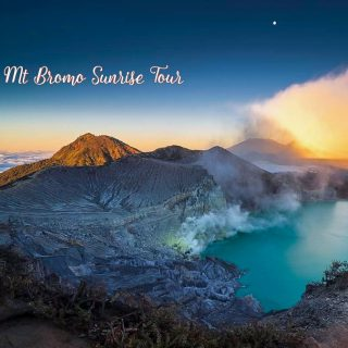 Bali Ijen Crater Tumpak Sewu Waterfall and Mount Bromo Tour